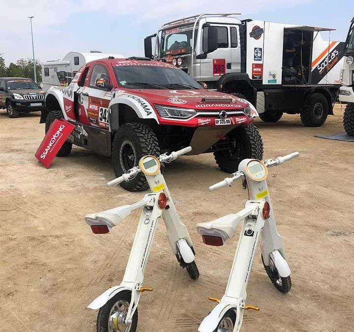 Shadow-Mobility en el Dakar 2019